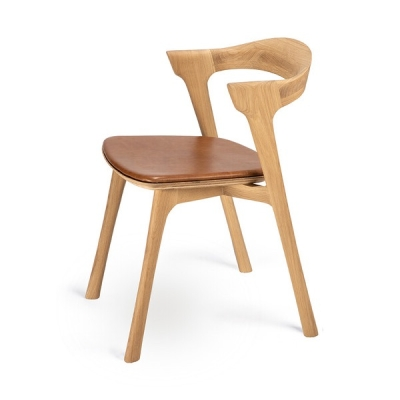 Bok Dining Chair - Leather Seat