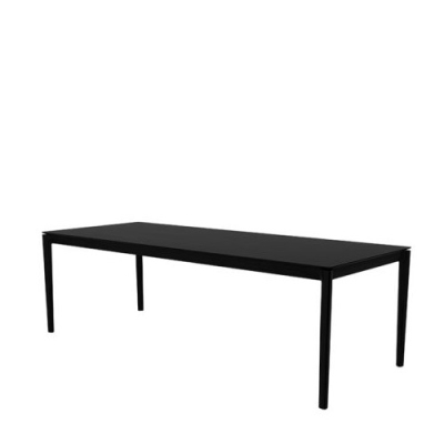 Bok Dining Table - Black Oak - 240cm