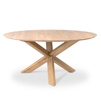 Circle Round Dining Table - 163cm