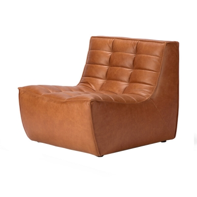 Sofa N701 1-Seater - Cognac Leather