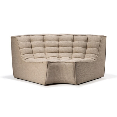 Sofa N701 Round Corner (More Colours Available)