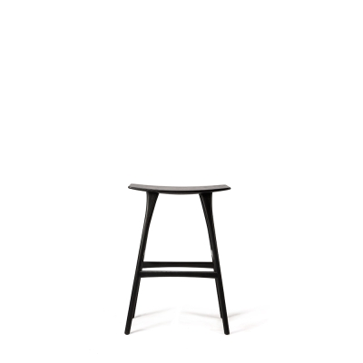 Osso Bar Stool - Black Oak