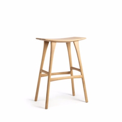Osso Bar Stool - Oak