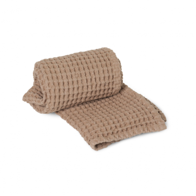 Organic Hand Towel - Tan