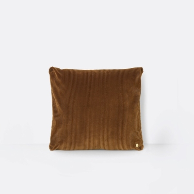 Corduroy Cushion - Golden Olive