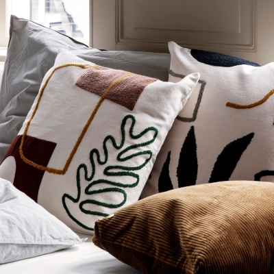 Mirage Cushion - Leaf