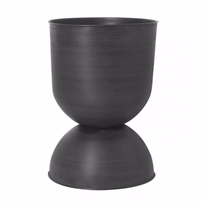 Hourglass Pot - Black - Large