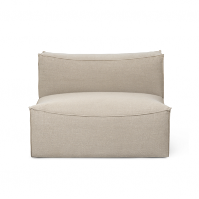 Catena Sofa Center - Rich Linen - Natural