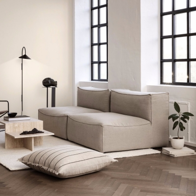 Catena Sofa Corner - Rich Linen - Natural