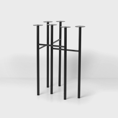 Mingle Table Legs - W48 or W68 - Black Base