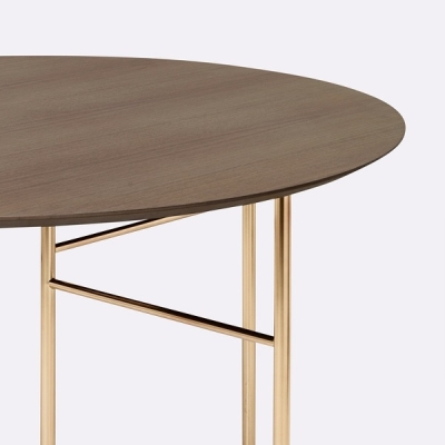 Mingle Wooden Round Table Top - 130cm dia (More Colours Available)