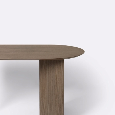 Mingle Wooden Round Table Top - 150cm x 75cm (More Colours Available)
