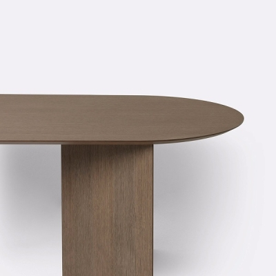 Mingle Wooden Round Table Top - 220cm x 90cm (More Colours Available)