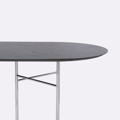 Mingle Round Table Top - 220cm x 90cm (More Colours Available)