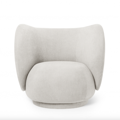 Rico Lounge Chair Boucle (More Colours Available)