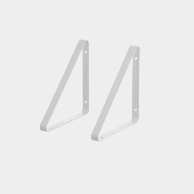 Shelf Hangers (set of 2) - White