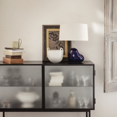 Haze Sideboard - Wired Glass