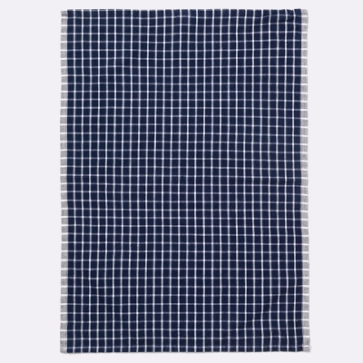Hale Tea Towel - Blue/Off White