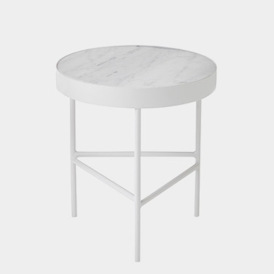 Marble Table - White Bianco Carra - Medium
