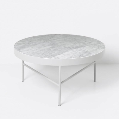 Marble Table - White - Large