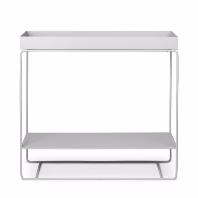 Plant Box - Two Tier - Light Grey