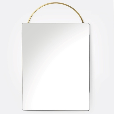 Adorn Brass Mirror - Face