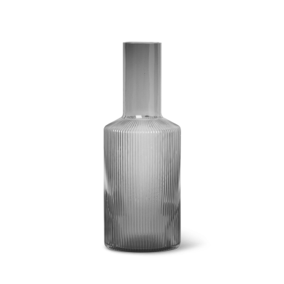 Ripple Carafe - Smoked Grey