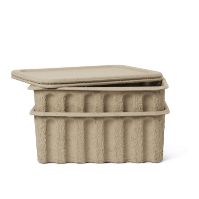 Paper Pulp Boxes (set of 2)