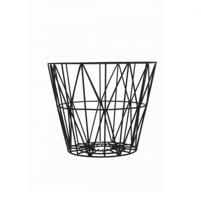 Wire Basket - Black - Large