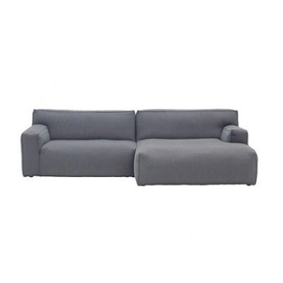 Clay Sofa with Divan - Sydney 91 Light Grey