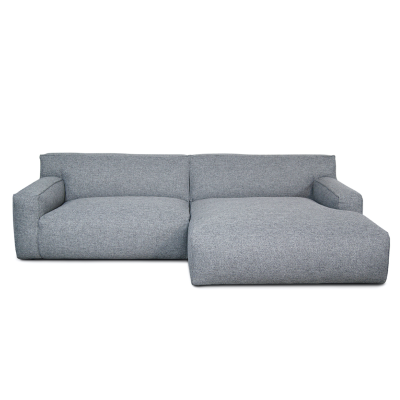 Clay Sofa with Divan - Polvere 90 Grey