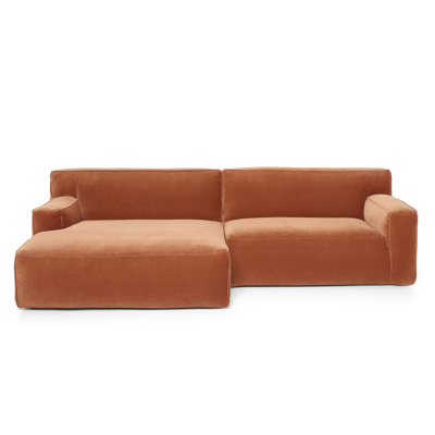 Clay Sofa with Divan - Royal 160 Magnolia