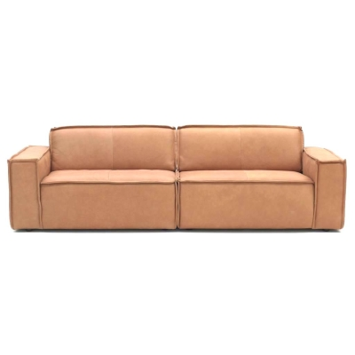 Edge 3 Seater - Naturale Sand Leather 8002
