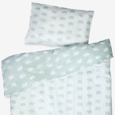 Bjorn Bed Set - Sage Green