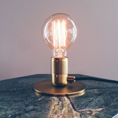 Table lamp E27 - Copper