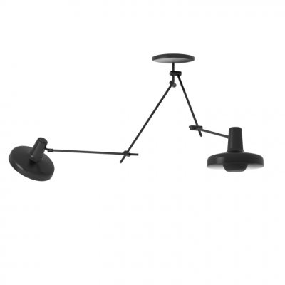 Arigato Ceiling Lamp Double AR-C2 - Black/White