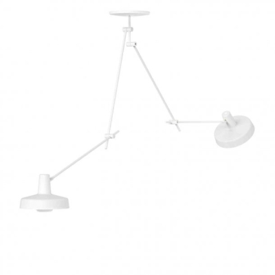 Arigato Ceiling Lamp Double Long AR-C2L - Black/White