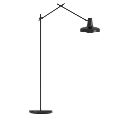 Arigato Floor Lamp AR-F - Black/White