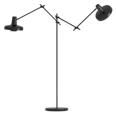 Arigato Floor Lamp Double AR-F2 - Black/White