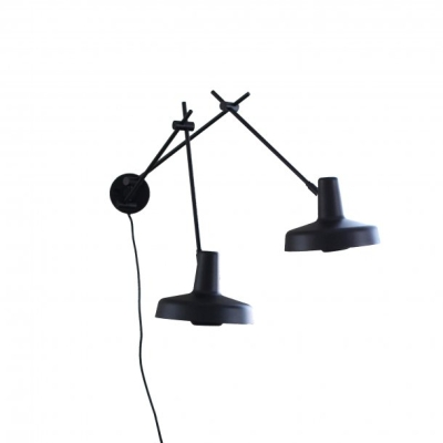 Arigato Wall Lamp Double AR-W2 - Black/White