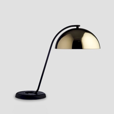 Cloche Lamp - Polished Brass