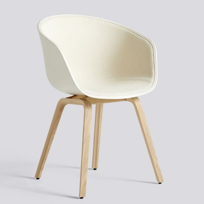 About A Chair AAC22 - Front Upholstery - Cream White Shell - Olavi By HAY 03