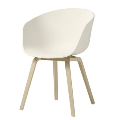 About A Chair AAC22 - Cream White