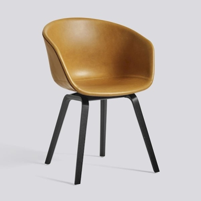 About A Chair AAC23 - Cognac Silk Leather