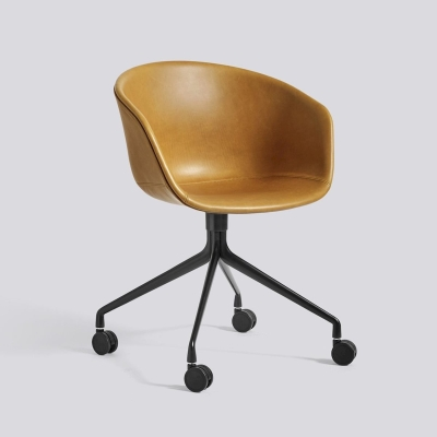 About A Chair AAC25 - Cognac Silk Leather