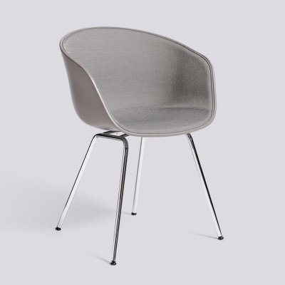 About A Chair AAC26 - Front Upholstery - Concrete Grey Shell - Surface By HAY 120