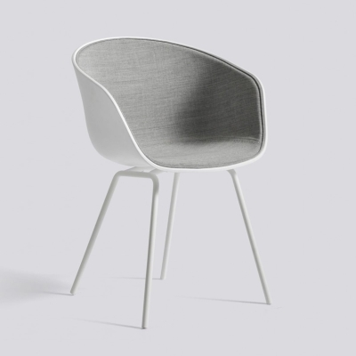 About A Chair AAC26 - Front Upholstery - White Shell - Remix 123