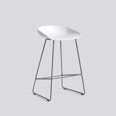 About A Stool AAS38 - Stainless Steel