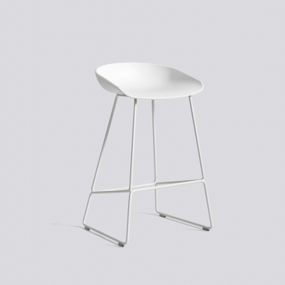 About A Stool AAS38 - White Base