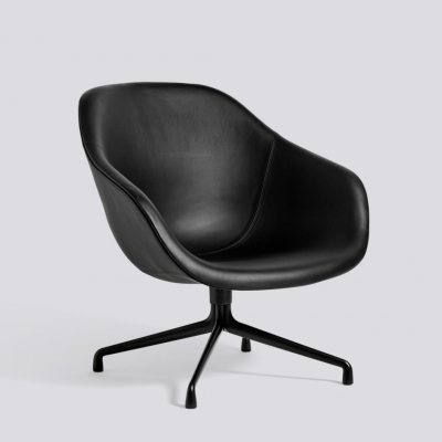 About A Lounge Chair AAL81 - Black Sierra Leather